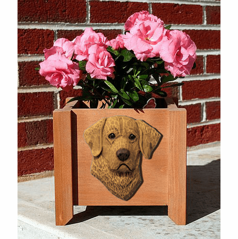 Chesapeake Bay Retriever Planter Box