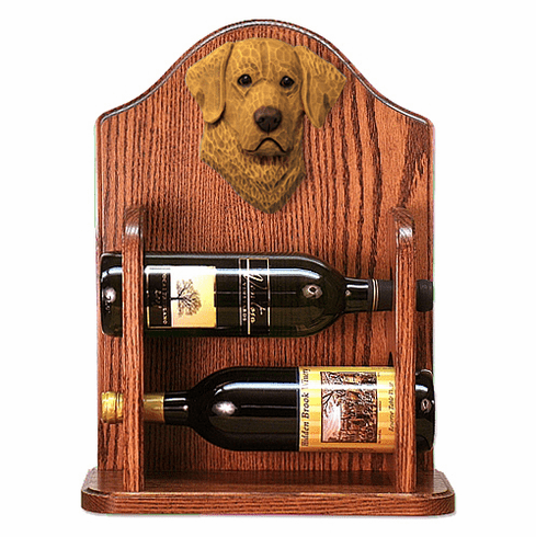 Chesapeake Bay Retriever Wine Rack -Standard