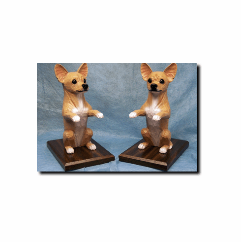 Chihuahua Bookends