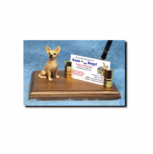 Chihuahua Deluxe Desk Set