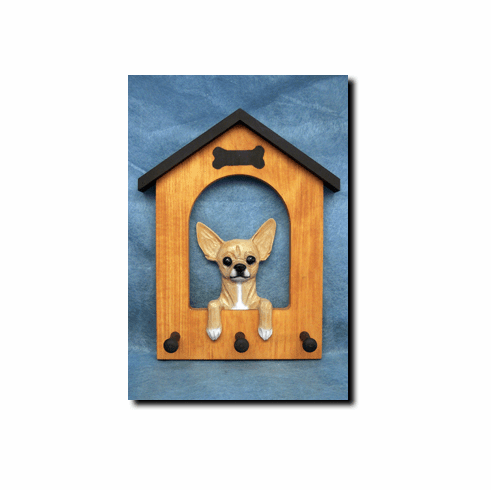 Chihuahua Dog House Leash Holder