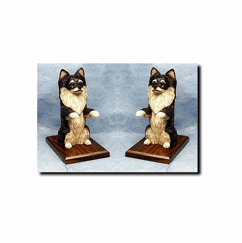 Chihuahua Long Hair Bookends