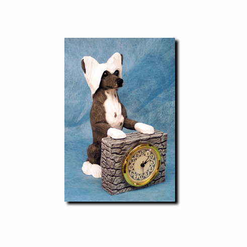 Chinese Crested Mantle Clock