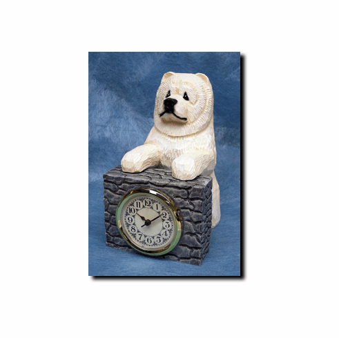 Chow Chow Mantle Clock