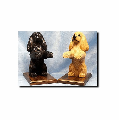 Cocker Spaniel American Bookends
