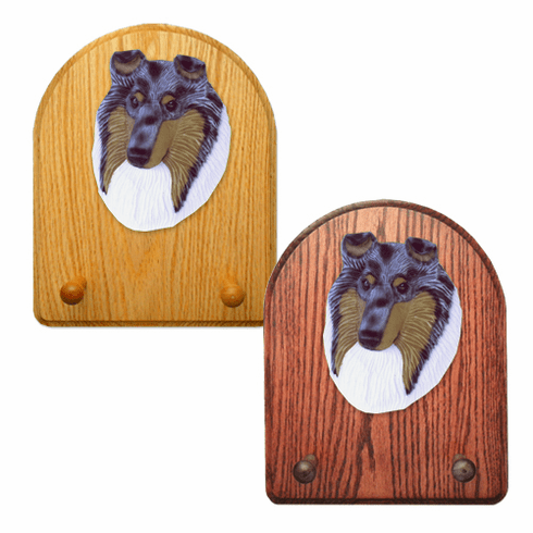Collie rough Key Rack-Blue Merle