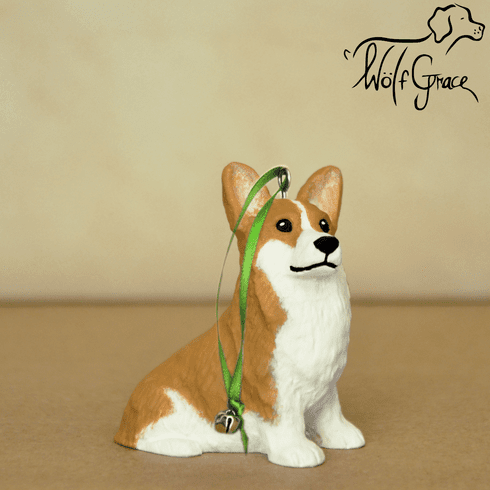Corgi 3-Dimenional Christmas Ornament