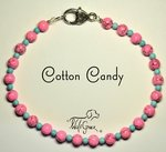 <b>Cotton Candy Necklace for Dogs <br>(Matching Human Necklace Available!)</b>