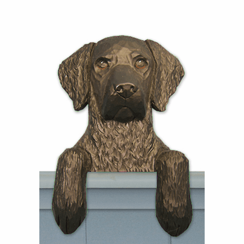 Curly Coated Retriever Door Topper