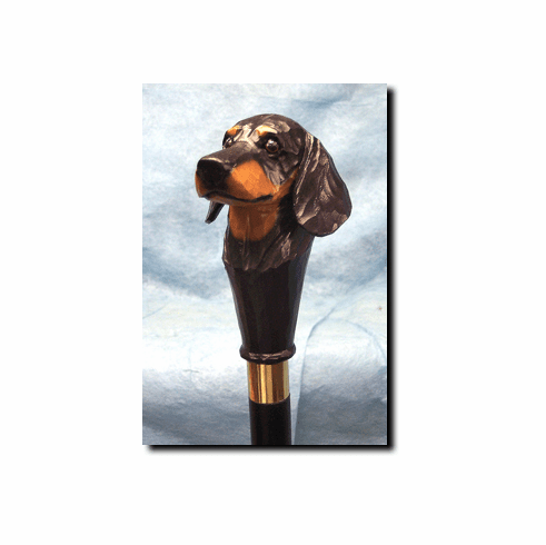Dachshund Smooth Coat Walking Stick, Hiking Staff