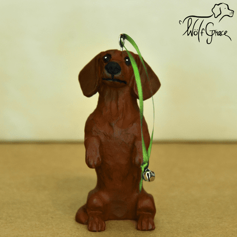 Dachshund Smoothcoat Christmas Ornament
