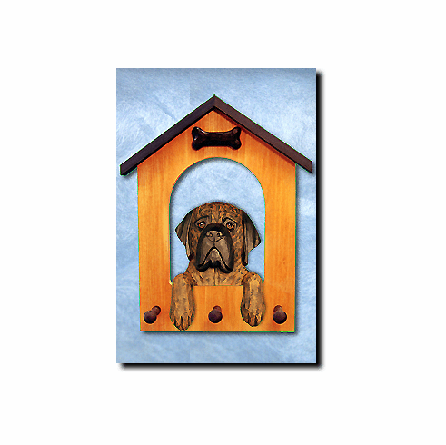 English Mastiff Dog House Leash Holder