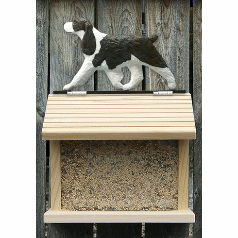 English Springer Spaniel Bird Feeder-Liver