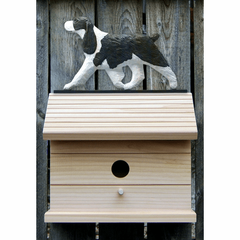 English Springer Spaniel Bird House-Liver
