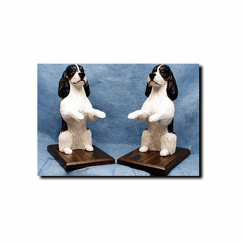 English Springer Spaniel Bookends