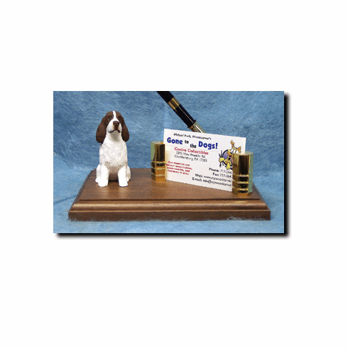 English Springer Spaniel Deluxe Desk Set