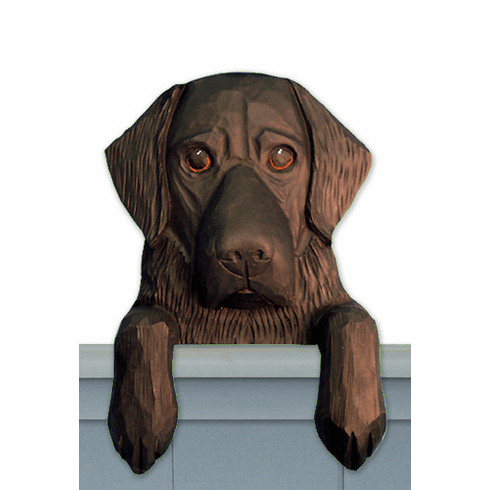 Flat Coated Retriever Door Topper