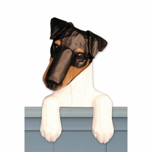 Fox Terrier Smooth Door Topper