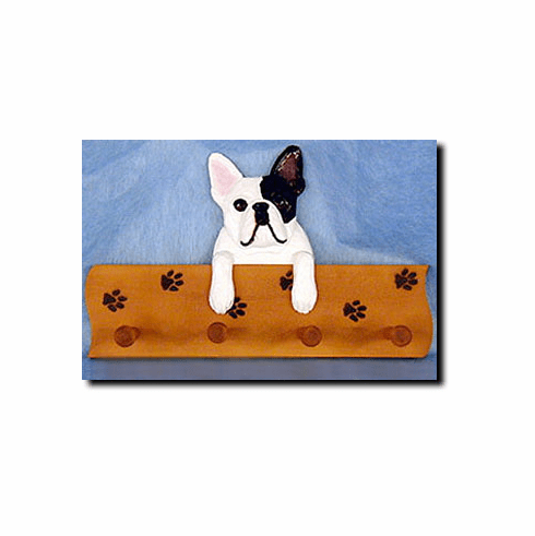 French BullDog Four-Peg Hang Up