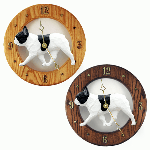 French Bulldog Wall Clock-Pied