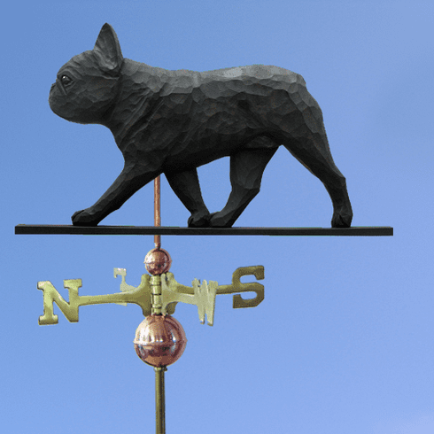 French Bulldog Weathervane-Black Brindle