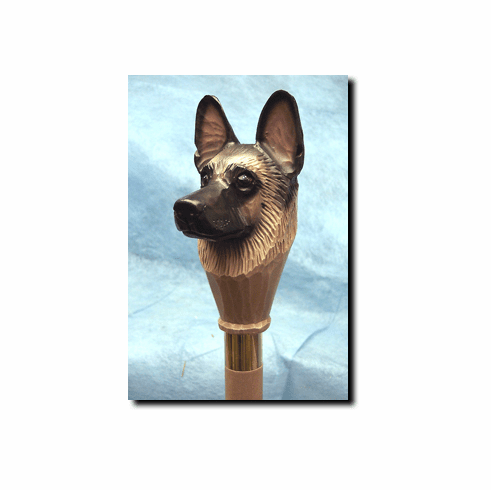 German Shepherd Dog Walking Stick, Hiking Staff