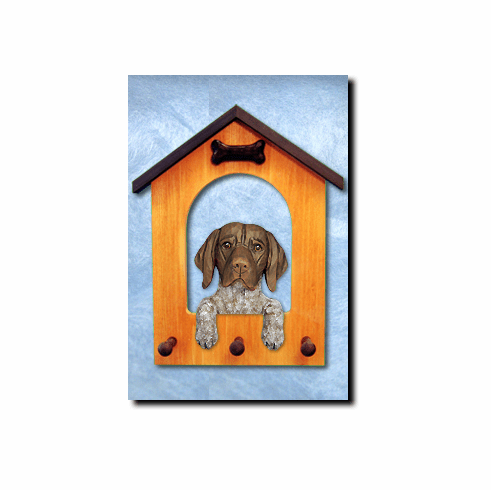 German Shorthaired Pointer Dog House Leash Holder