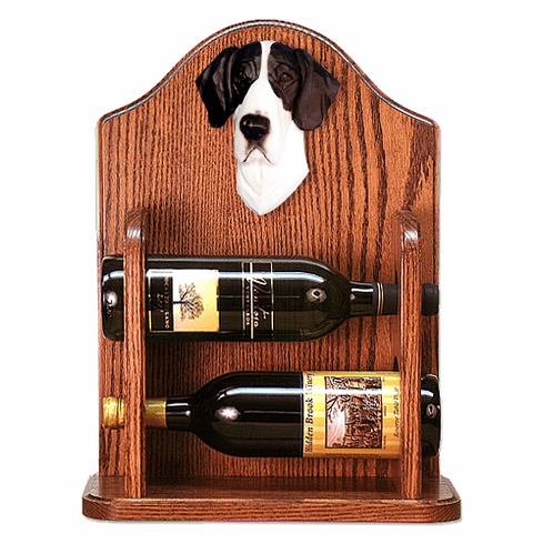 Great Dane (natural) Wine Rack -Mantle