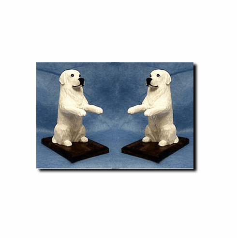Great Pyrenees Bookends
