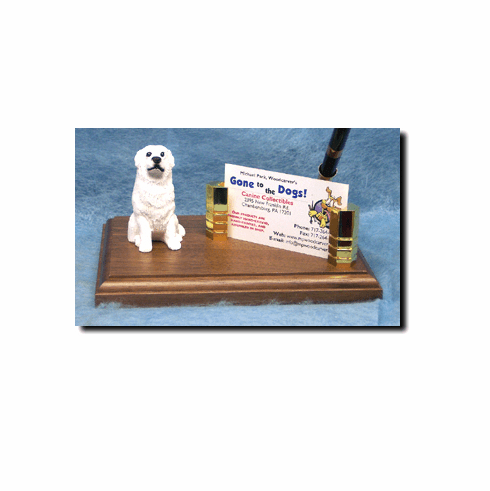 Great Pyrenees Deluxe Desk Set