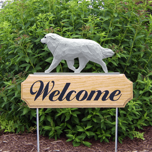 Great Pyrenees DIG Welcome Stake-Standard