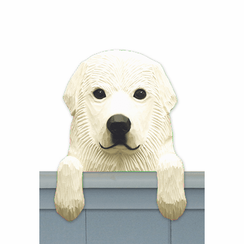 Great Pyrenees Door Topper
