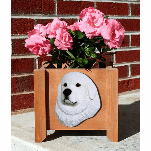 Great Pyrenees Planter Box