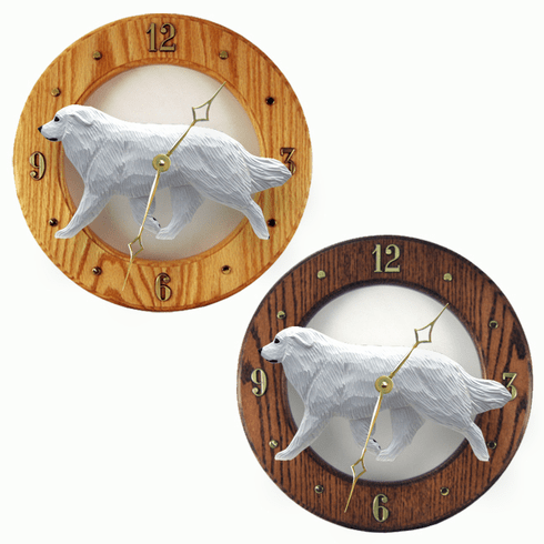 Great Pyrenees Wall Clock-Standard