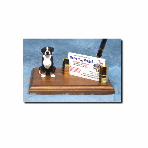 Greater Swiss Mountain Dog Deluxe Desk Set