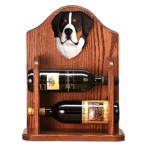 Greater Swiss Mt. Dog Wine Rack -Standard