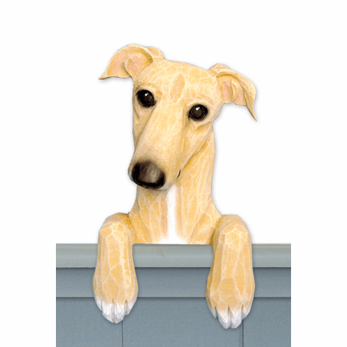 Greyhound Door Topper