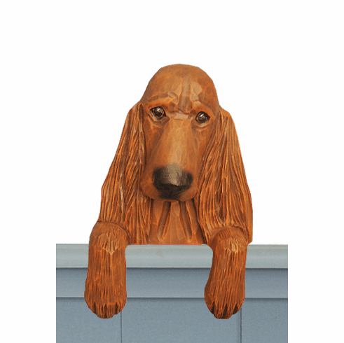 Irish Setter Door Topper