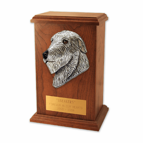 Irish Wolfhound Memorial Urn