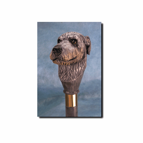 Irish Wolfhound Walking Stick, Hiking Staff