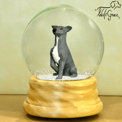 Italian Greyhound Snow Globe