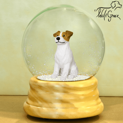 Jack Russell Terrier Rough Coat Snow Globe
