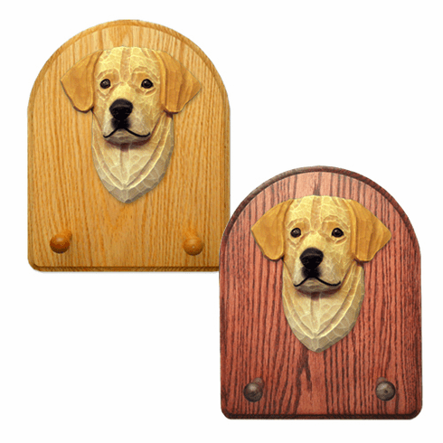 Labrador Retriever Key Rack-Yellow