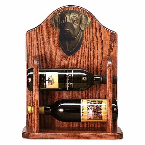Labrador Retriever Wine Rack-Black