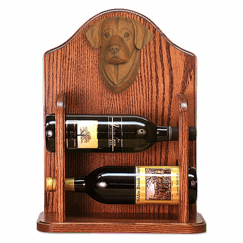 Labrador Retriever Wine Rack-Chocolate