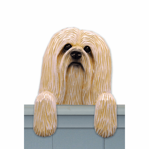 Lhasa Apso Door Topper