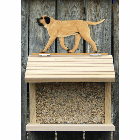 Mastiff Bird Feeder-Fawn