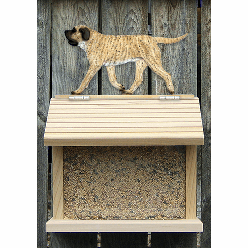 Mastiff Bird Feeder-Fawn Brindle