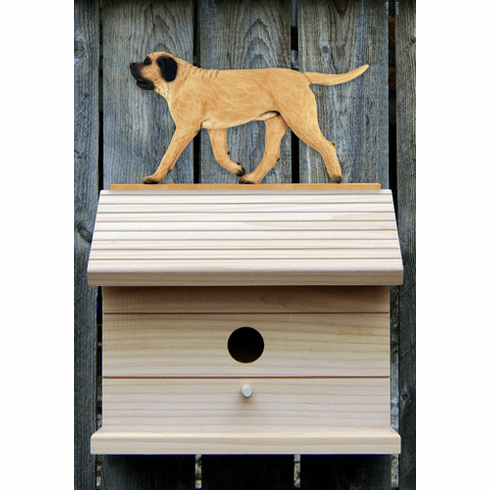 Mastiff Bird House-Fawn