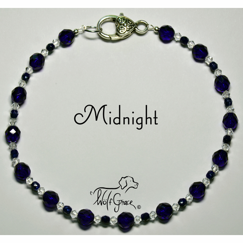 <b>Midnight Necklace for Dogs <br>(Matching Human Necklace Available!)</b>